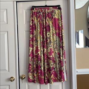 Dresses & Skirts - Plus Size Ghana African Print Kaaba Maxi Skirt
